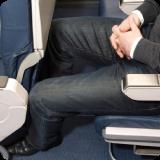 Reisethrombose während des Flugs